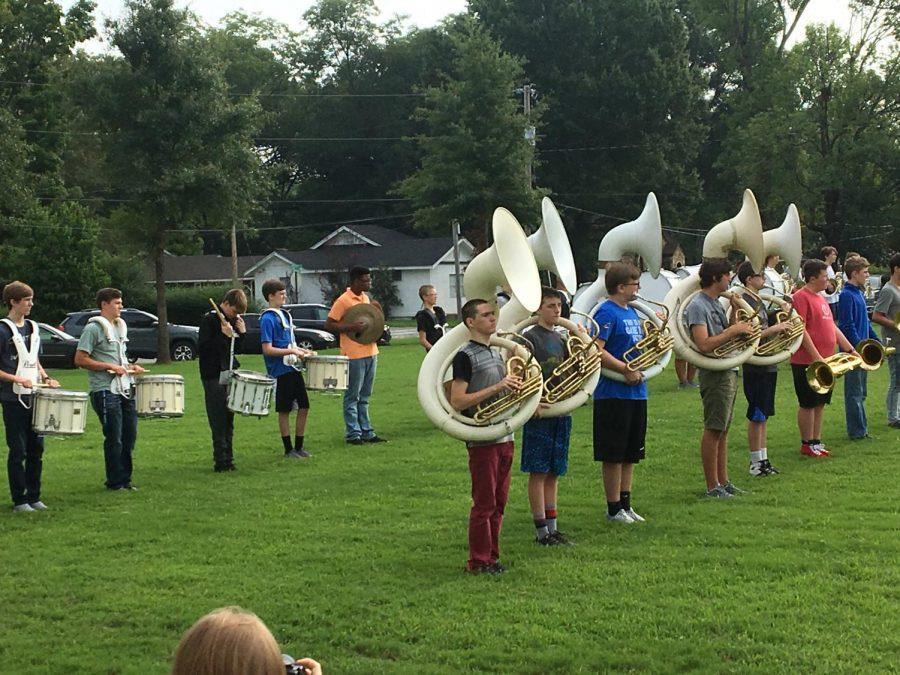 Freshman band has busy first quarter