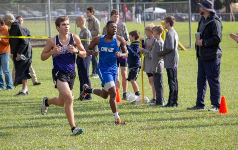 Boys Cross Country Wins Conference Championship