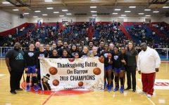 Girls Basketball Wins Battle on Barrow