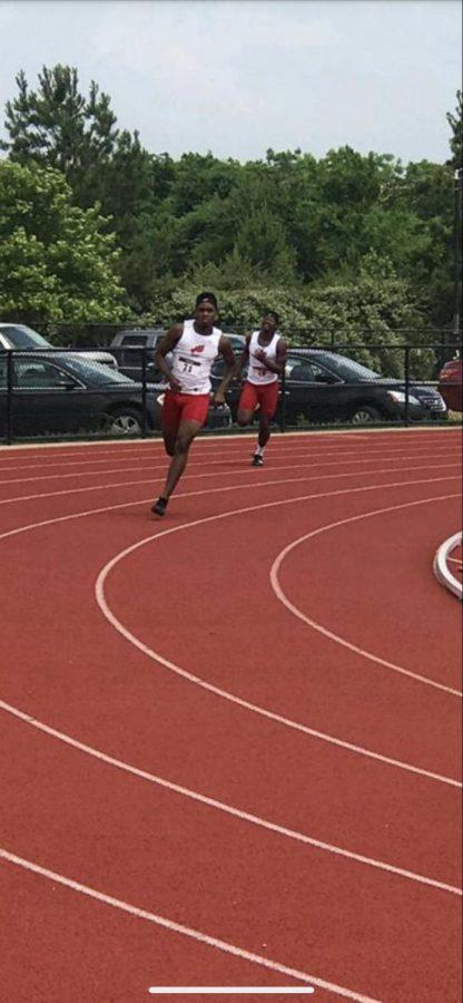 Grady Runs Toward Future in Track