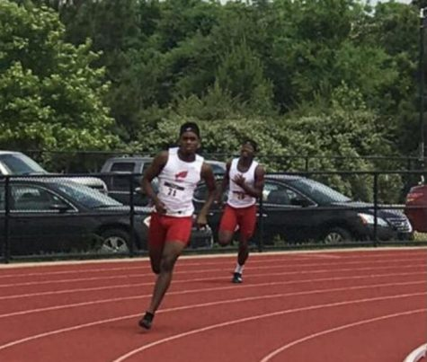Grady Runs Toward Future in Track