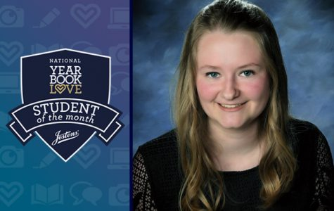 CHS Yearbook Editor named Jostens National Student of the Month