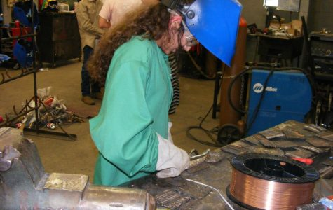 Welding Class Separates into two Classrooms due to Popularity