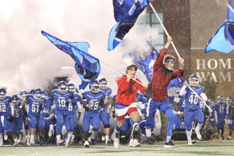 Wampus Cats Win Out On Homecoming Night.