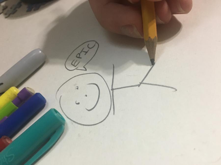 Visual+Art+Appreciation+gets+their+pencils+ready
