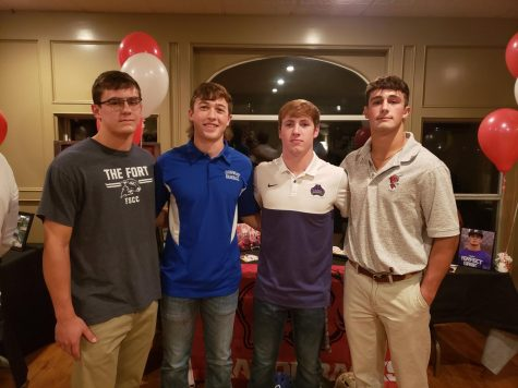 CHS baseball has top college signings