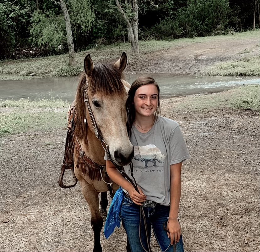 Smith Discusses Love for Horses