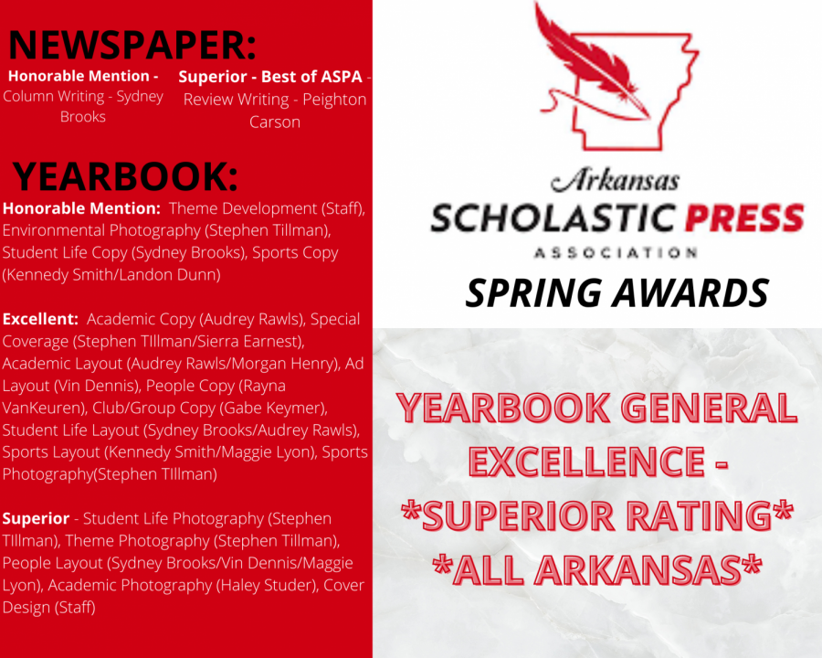 Student Publications Receive Awards at Virtual Convention